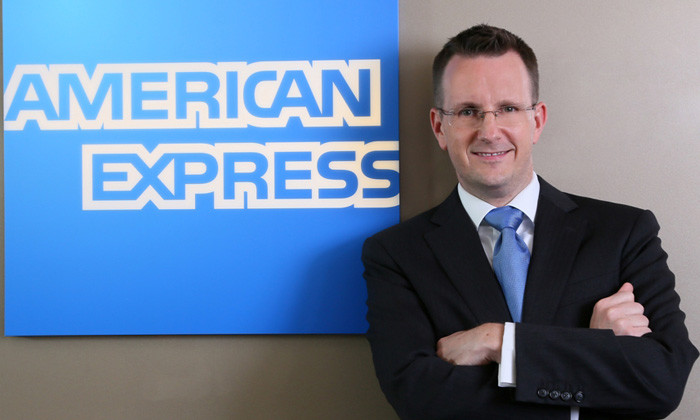Up the ranks: Chris Meyrick is chief diversity officer at American Express