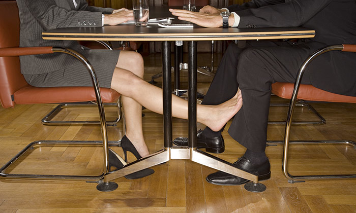 Almost 1 in 4 workers have dated their bosses