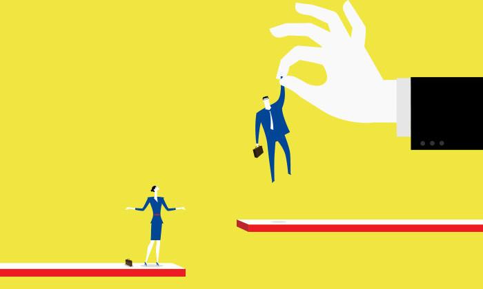 Anticipating discrimination, women steer away from top jobs