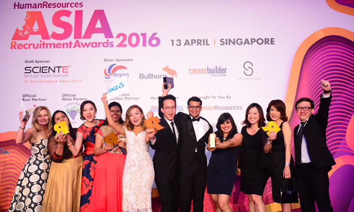 Winners and photos: Asia Recruitment Awards 2016, Singapore