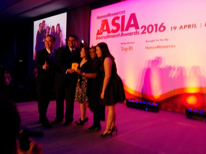 Live: Asia Recruitment Awards 2016, Malaysia