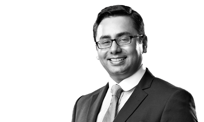 Up the ranks: Syed Ali Abbas is group HR director, Global Fashion Group