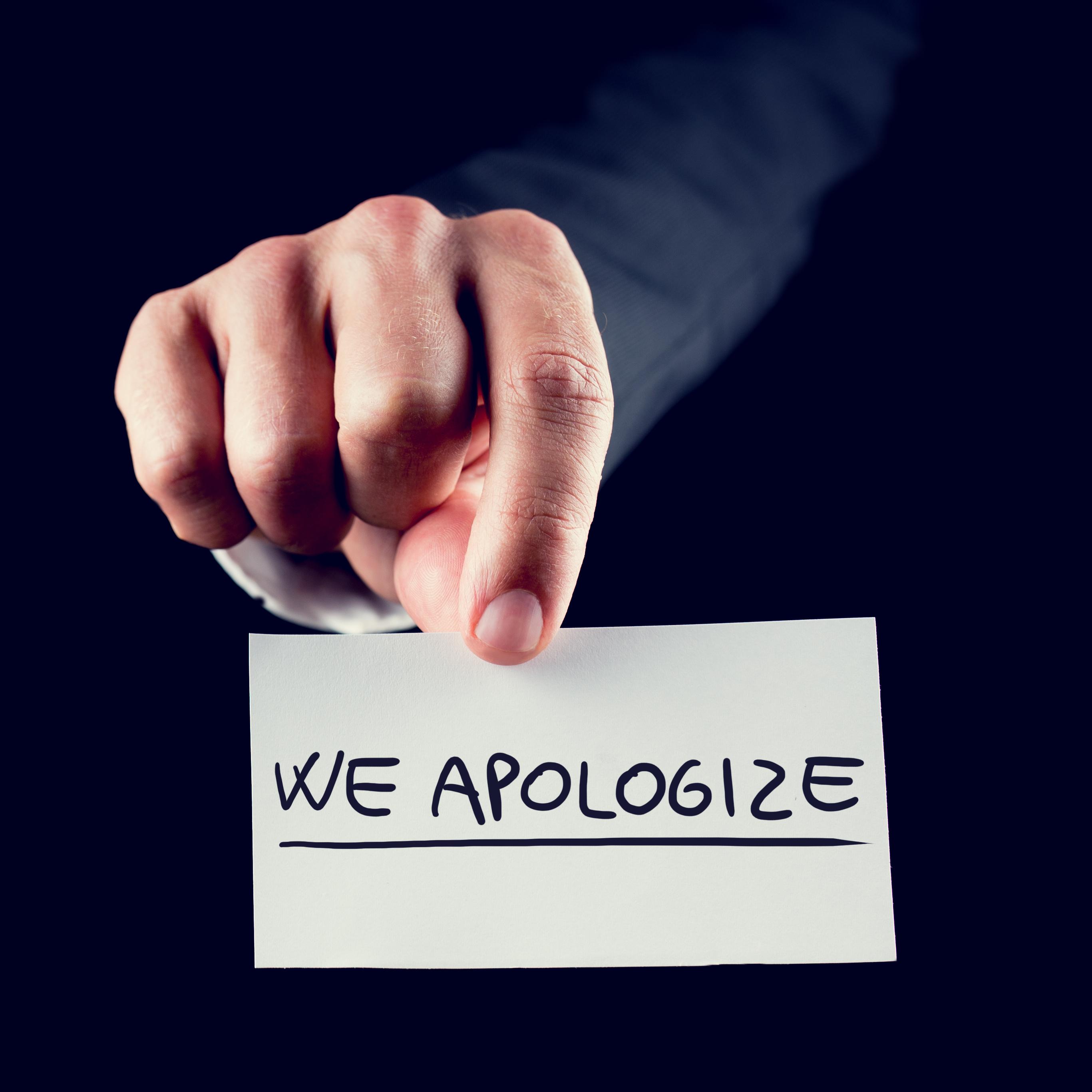 HRSC Apology