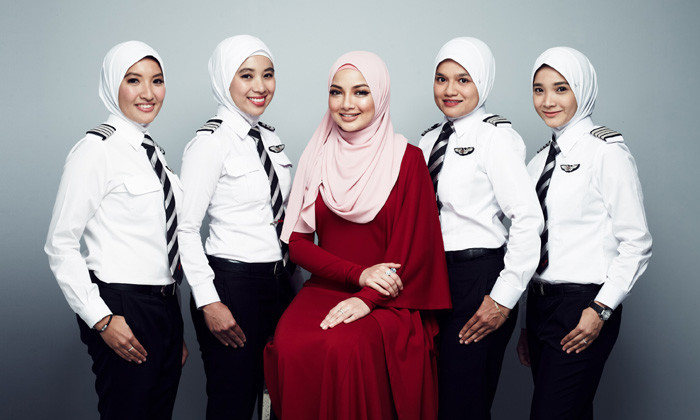 AirAsia launches exclusively-designed hijab for women pilots