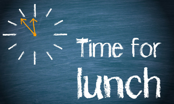 Hongkongers on how to deal with a 30-minute lunch break