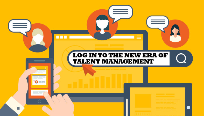 Log in to the new era of talent management